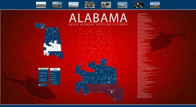 Aviation Alliance Map
